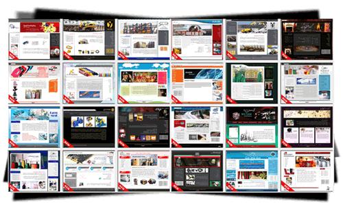 نمونه کار طراحی وب سایت